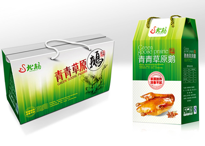 盾朗案例:青青草原包装设计