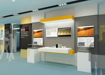 盾朗案例:工业企业展厅设计