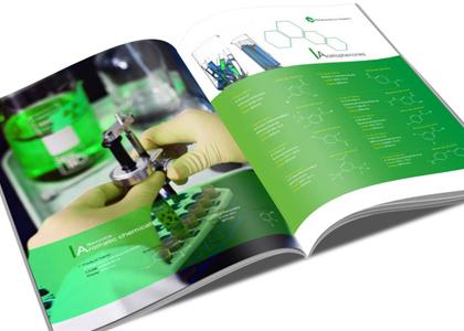 盾朗案例:化学企业画册设计